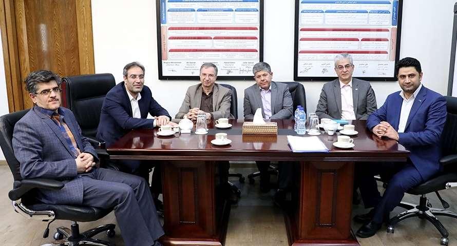 دیدار مدیرعامل بانک دی با رییس سازمان بورس